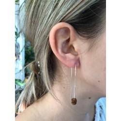 Boucles d'oreilles 110 mm Langues de vieilles femmes