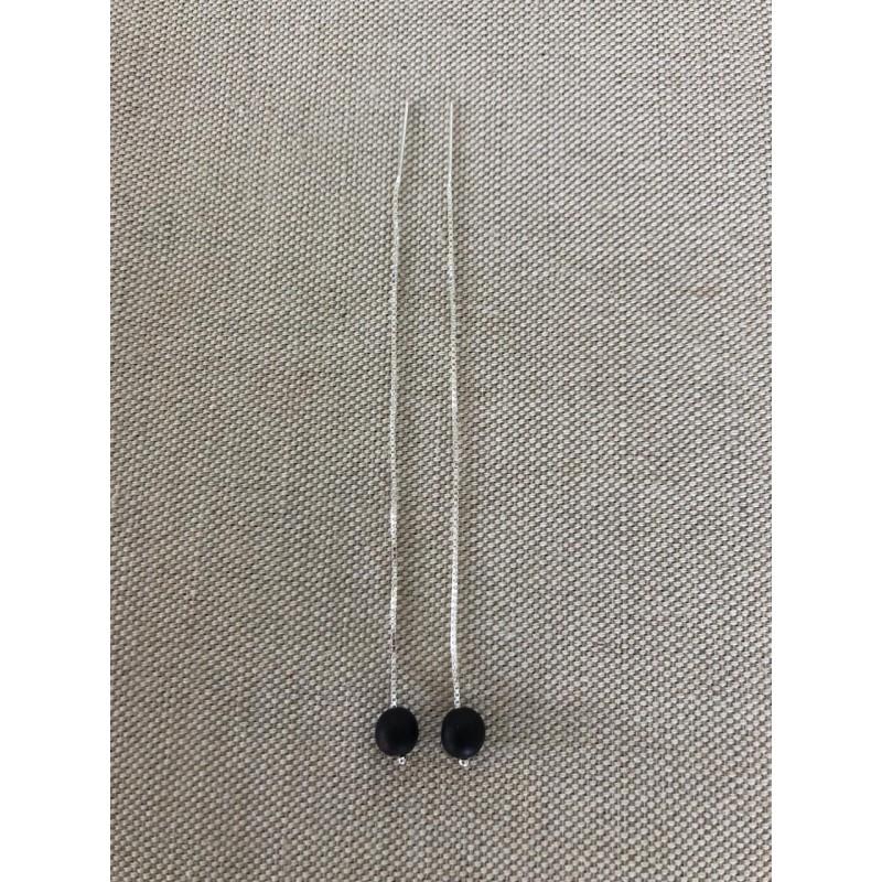 Boucles d'oreilles 110 mm canna