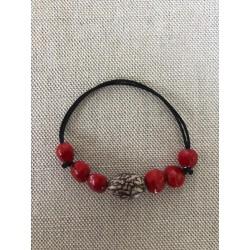 Bracelet réglable palmier royal nain église