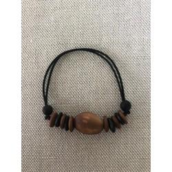 Bracelet réglable pois mer langues de vieilles femmes colliers du diable